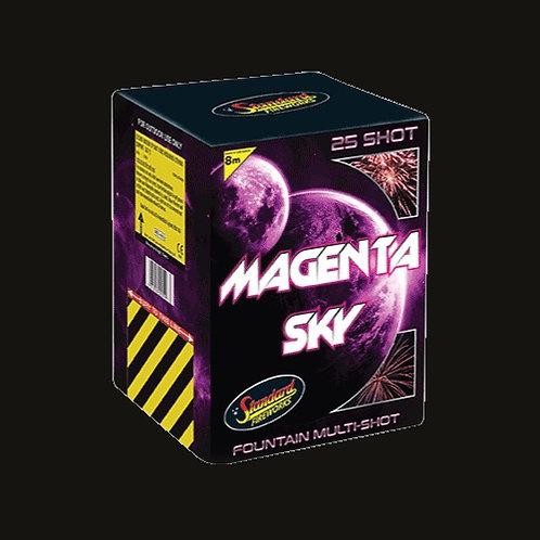 Magenta Sky 25 Shot