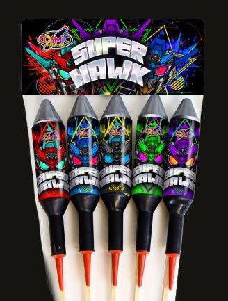 Super Hawk 5 pack Rockets