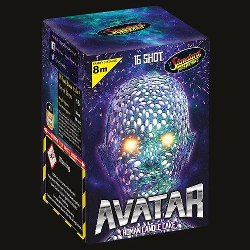 Avatar 16 Shot Cake