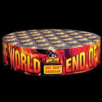 END OF THE WORLD (500 SHOTS)