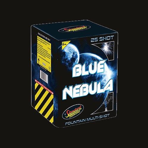 Blue Nebula 25 Shot Cake