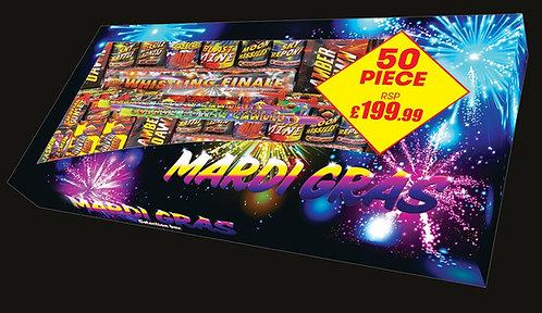 Mardi Gras Selection Box 50 Fireworks