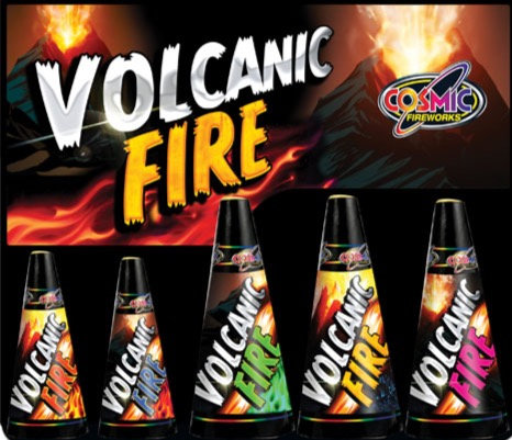 Volcanic Fire 5 Cones