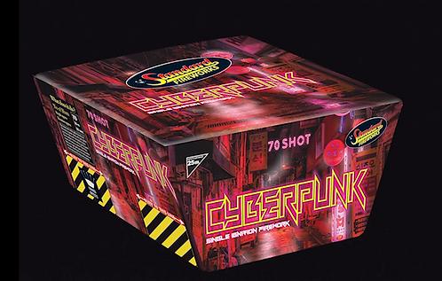 Cyberpunk 70 Shot Cake