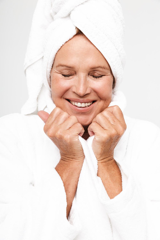 Exfoliating skin over 50