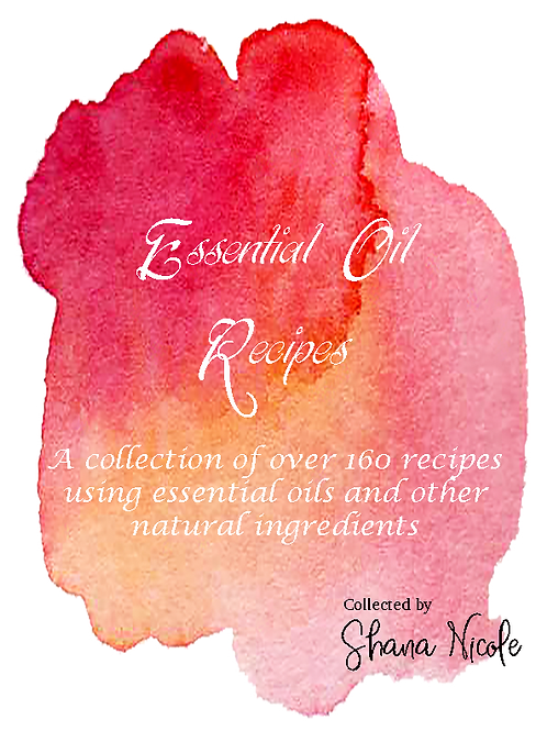 Essential Oil Recipes - A collection of over 160 recipes using essential oils an
