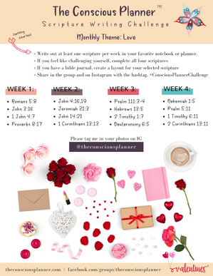 Scripture Writing Plan: Love