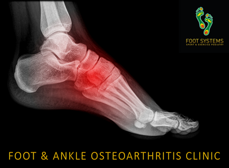 FOOT & ANKLE OSTEOARTHRITIS CLINIC