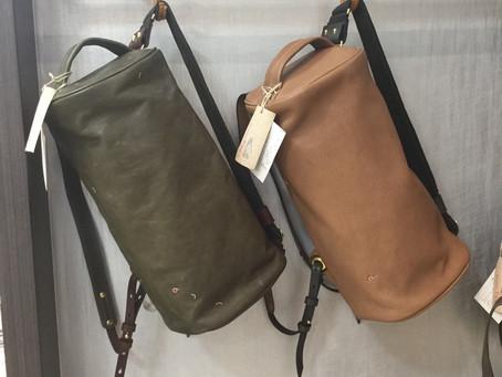 ● 新型と新素材のバッグのご紹介