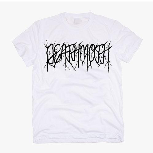 Deathmoth Logo V2 White Tee