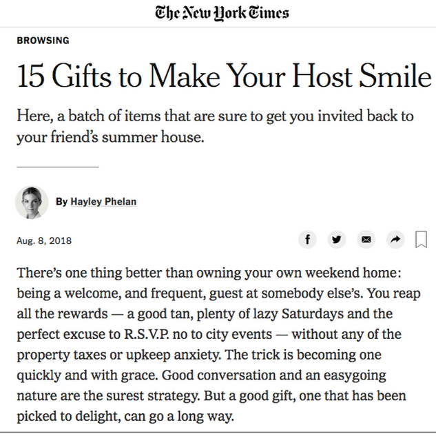 Alterita on The New York Times