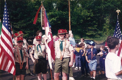 Boy Scouts were a large part of our lives