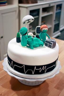 Pastel Cirujano