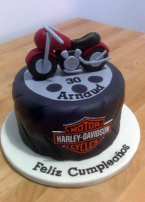 Pastel Harley Davidson