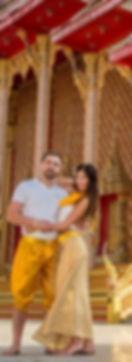 Свадебная церемония, сиволическая свадьба на пляже, в отеле, в храме в Паттайе, Тайланд