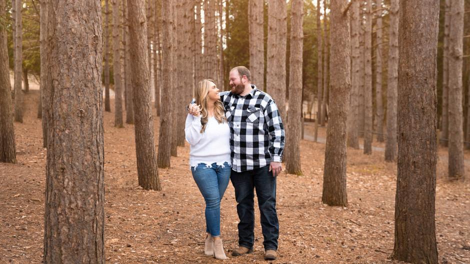 Joelle & Brandon's Engagement Portraits