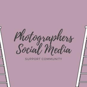Photographers Social Media Support Community