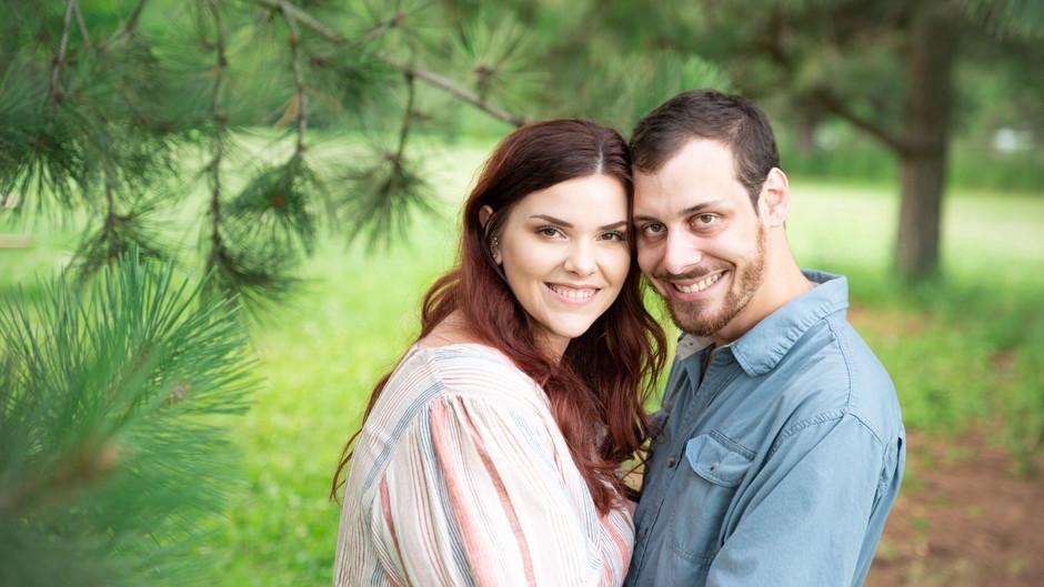 Morgan & Chas's Engagement Portraits