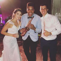 💍🎶🎷 Very Happy 💏 #grandhyattplayadelcarmen #playadelcarmen #playadelcarmenwedding #rivieramayame