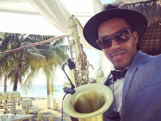 Sax for Weddings 🎶🎷 #tulum #cancun #cozumel #playadelcarmen #islamujeres