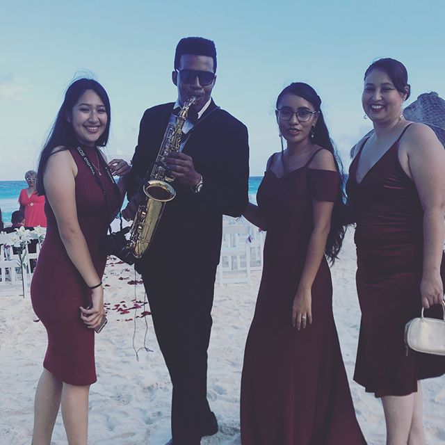 Wedding Day 💍🎷 #hotelemporio #cancun