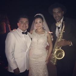 More wedding today 🎶🎷💍 info_juliosax