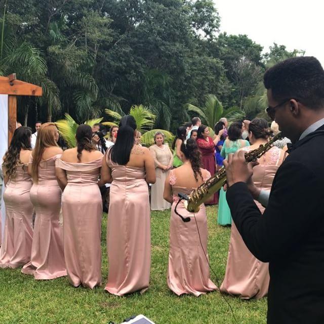 Entrada de la novia 👰 #carlamorrison #compartircarlamorrison #compartir #rancholaslomas #playadelca