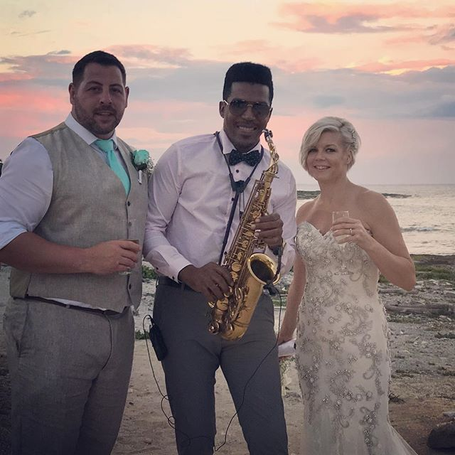 Beautyful wedding 🎶🎷💍 #destination #destinationweddings #sax #saxofonista #saxplayer #bodas #boda