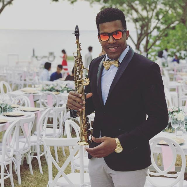 Wedding Cozumel island 🎶🎷💍 #playadelcarmen #saxophone #playadelcarmenwedding #myweddingday #cozum