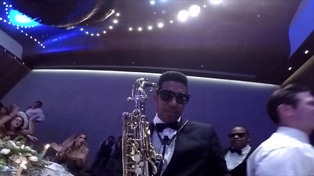 Sax Party at Grand Hyatt Playa del Carmen