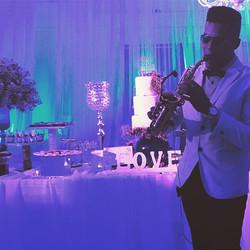 Love play at weddings 🎶🎶🎷💍 #cuzumel #mexico #bodasenmexico #miboda #wrdeings #mexicoweddings #us