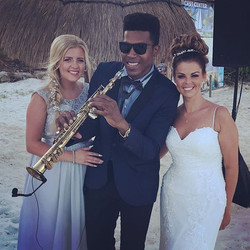 Beautiful Wedding Today 💍🎶🎷 Book on line 👇🏽👇🏽👇🏽_info_juliosax