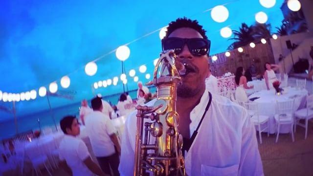 Weddings SoundCheck 🎶🎷😀👍🍹 #playadelcarmen #grandhyattplayadelcarmen #usa #saxofon #sax #jewishw