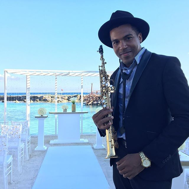 🎷🎶💍 weddings today _#playadelcarmen #rivieramayamexico #cdmx #cancun #cozumelweddings