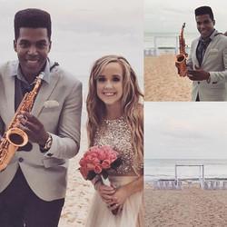 Beautiful Moments at Wedding 👰 🎶🎷💍 #iberostar #iberostarwedding #iberostargrand #playadelcarmen