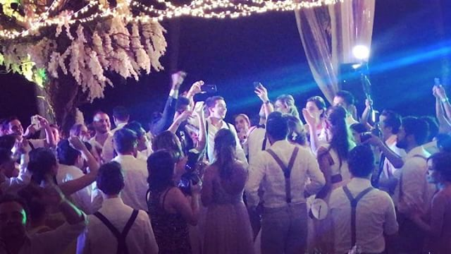 2017 Saasil Kantenah Wedding 🎶🎷💍 #saasilkantenah #playadelcarmen #xcaret #xcaretweddings #destina