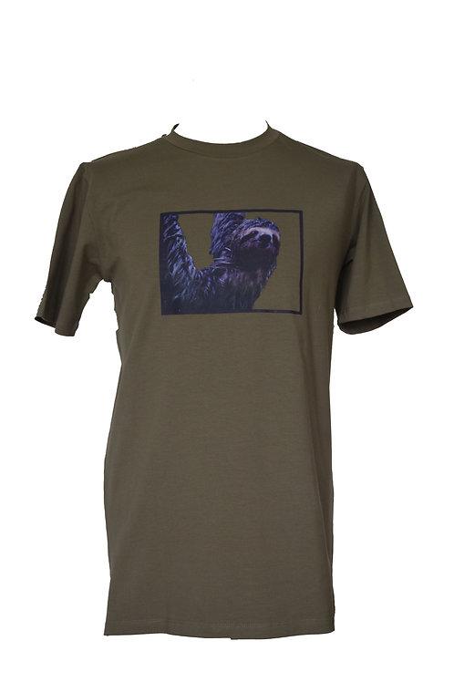 T-Shirt Groen (Long Fit)