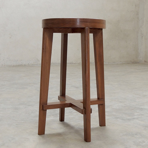 High Stool with Cane Sheet