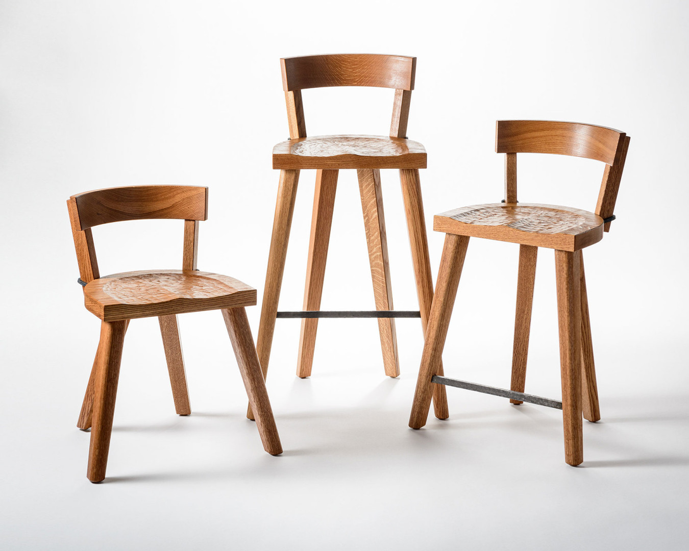 The Marolles Chair and Stools