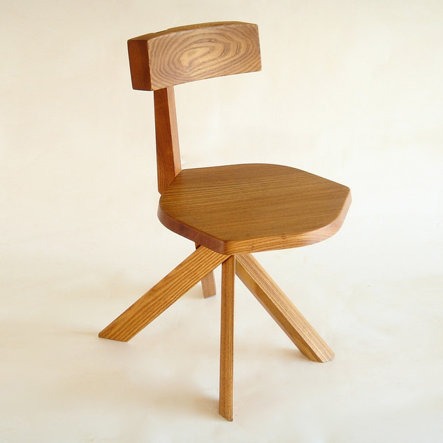 7 Beam Back Chair