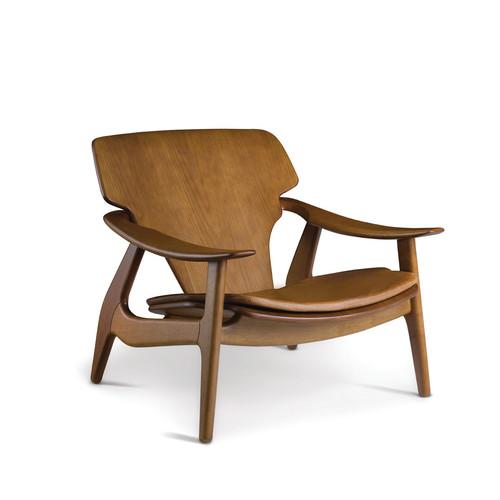 Diz Armchair with seat pad