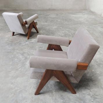 Upholstered Easy Armchair