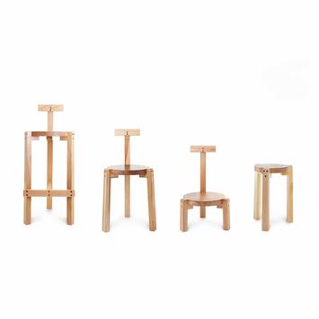 Giraffe Chair & stool