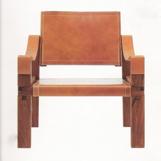 Full-stretched  Leather Armchair S10