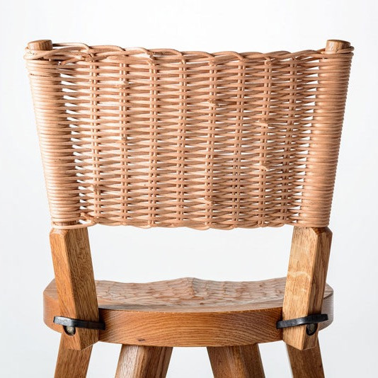 The Marolles Wicker Back Option