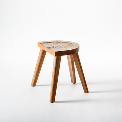 The Marolles backless stool