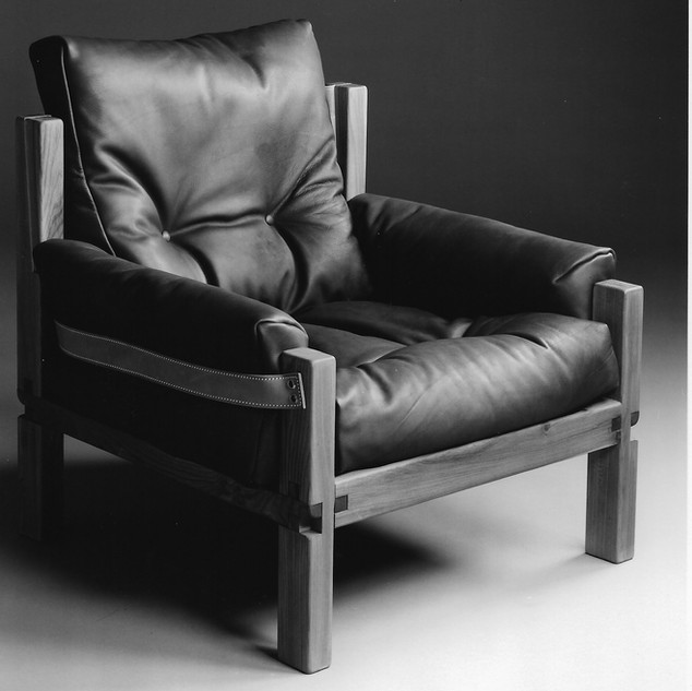 Leather Comfort Armchair S15