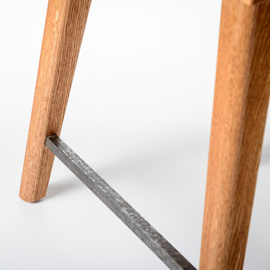 Counter stool detail