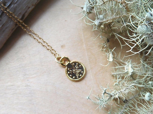 WS Small Coin Necklace
