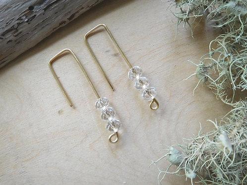 Herkimer Diamond Threaders